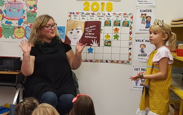 Pennsylvania Dutch Author, Rachel E. Yoder reads Penny Olive at Brookeside