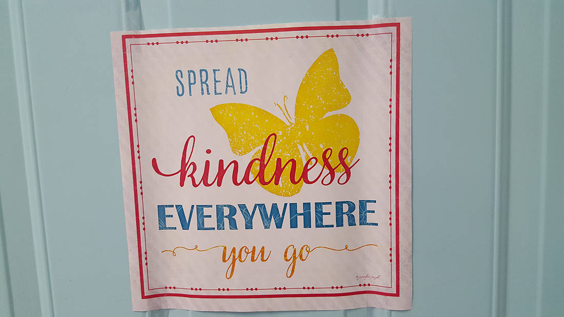 Spread Kindness Everywhere You Go